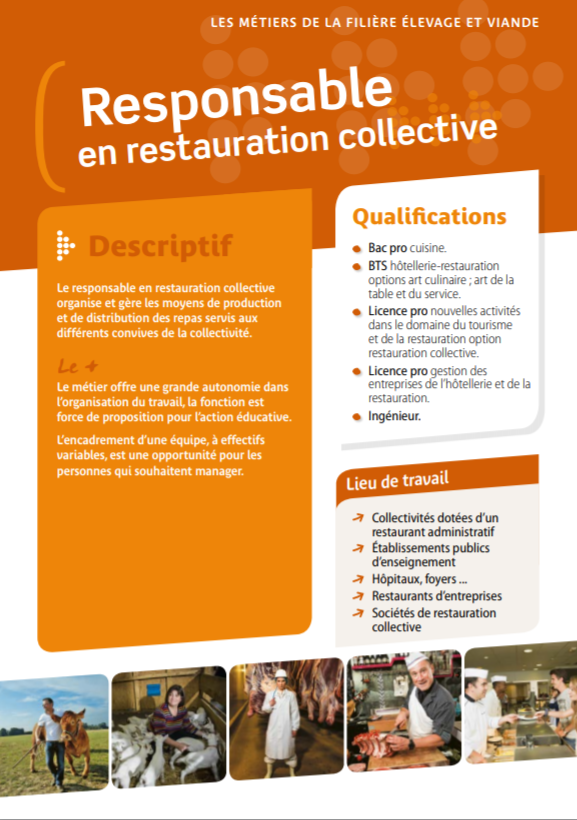 Responsable en restauration collective