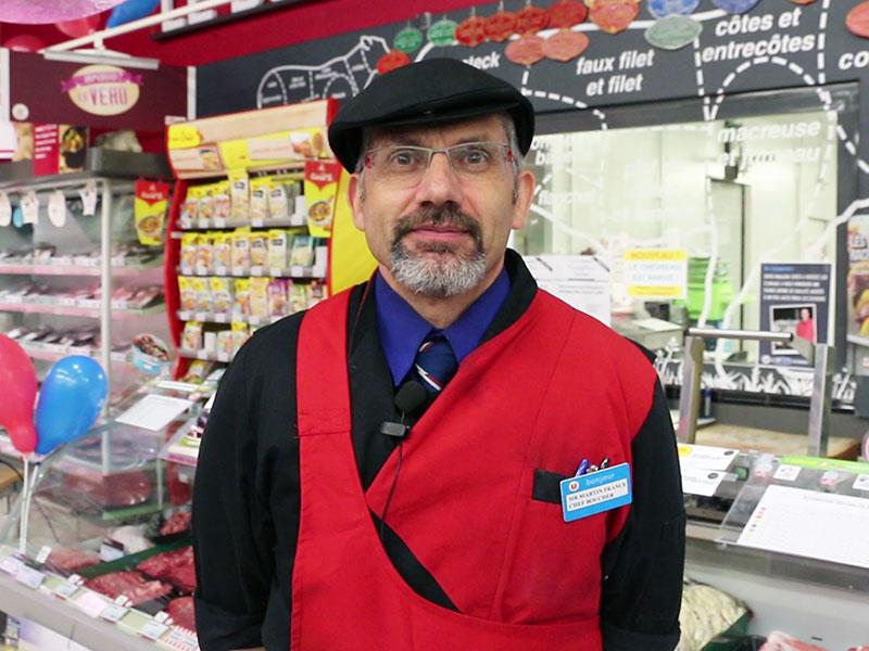 « vous savez, pour nous aussi, une viande de qualité, c'est un plaisir à travailler ! »