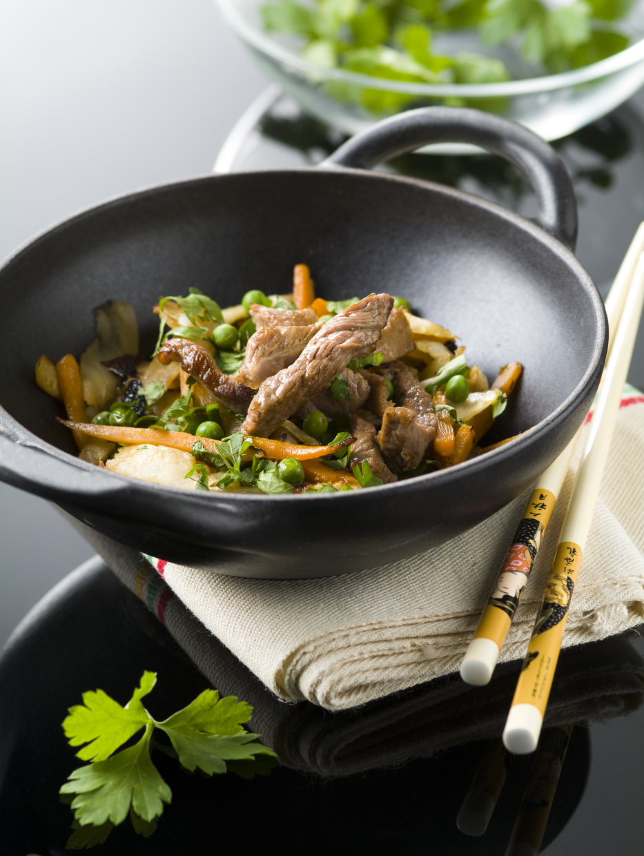 quels morceaux de viande cuisiner au wok cuisine et achat la. Black Bedroom Furniture Sets. Home Design Ideas