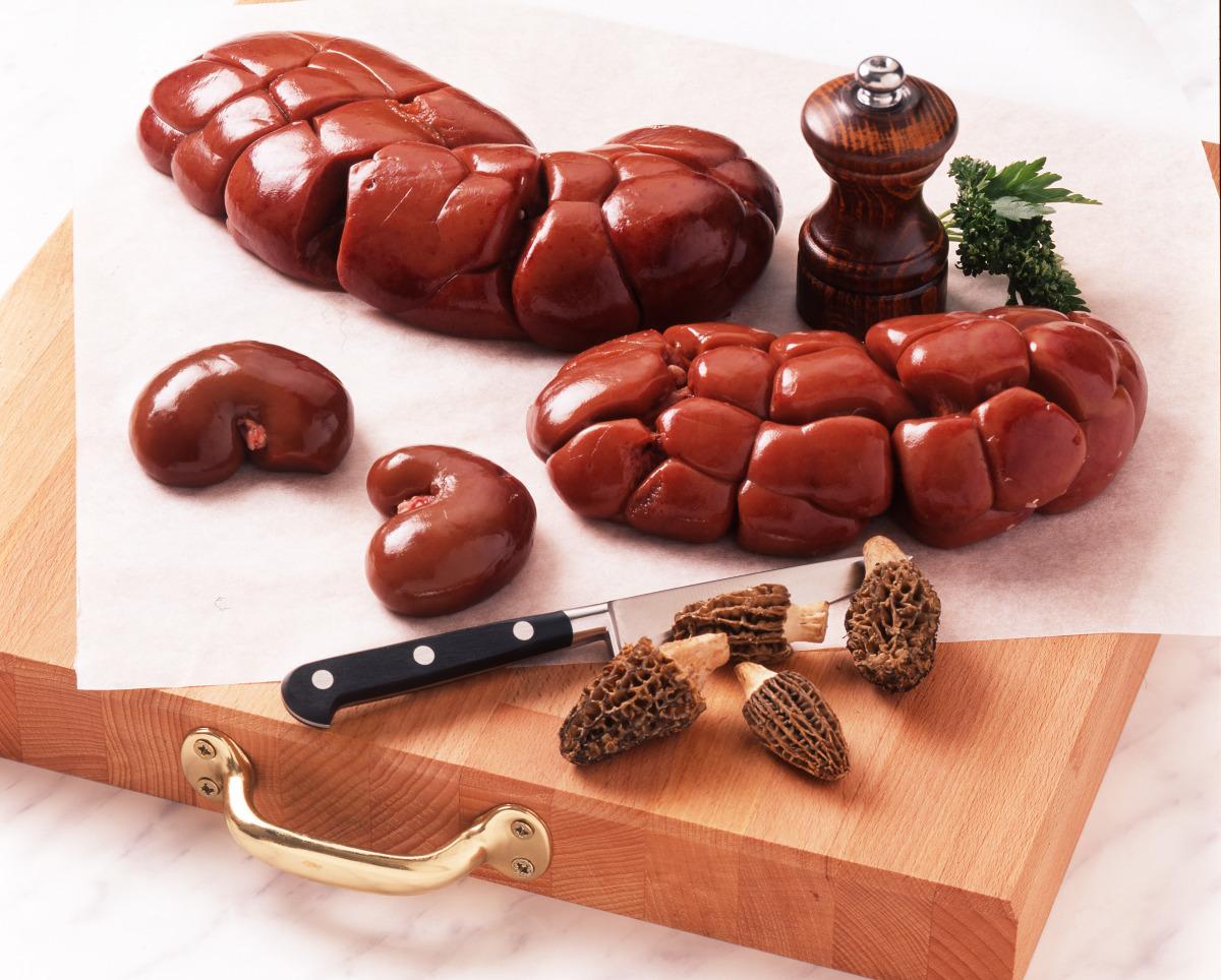 Les rognons de b uf de veau de mouton et d 39 agneau cuisine et achat la - Cuisiner des rognons de porc ...
