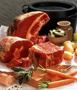 La viande boeuf et ses morceaux