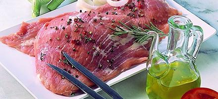 Cuisiner la viande de porc