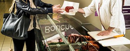 Acheter la viande