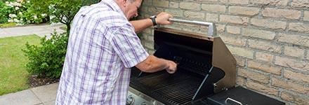 Entretien du barbecue