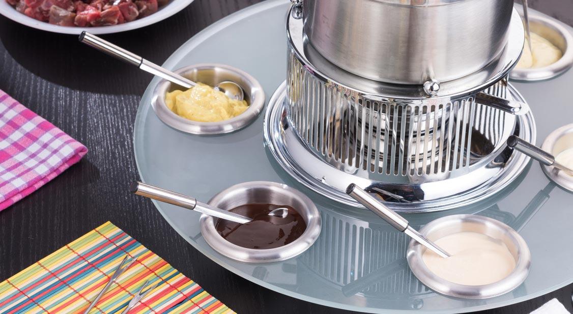 Quels accompagnements avec une fondue bourguignonne ?