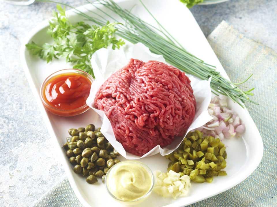 Les ingrédients indispensables du steak tartare