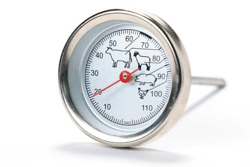 Le thermomètre à viande