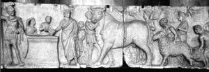 Les animaux d'élevage et les mythologies grecque et romaine Mars