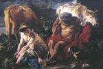 Les animaux d'élevage et les mythologies grecque et romaine Mercus et Argus