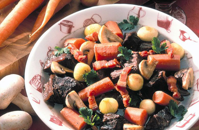 Le bœuf bourguignon, ou comment marier la viande et le vin en Bourgogne
