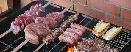 Churrasco, le barbecue brésilien - © Leonardo Carvalho.