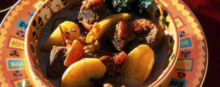Le goulash à base de bœuf, plat national de Hongrie