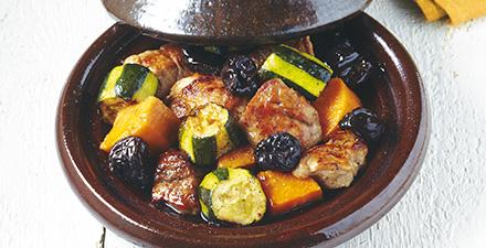Maroc le tajine la cuisson marocaine l touff e - Cuisiner avec un tajine en terre cuite ...
