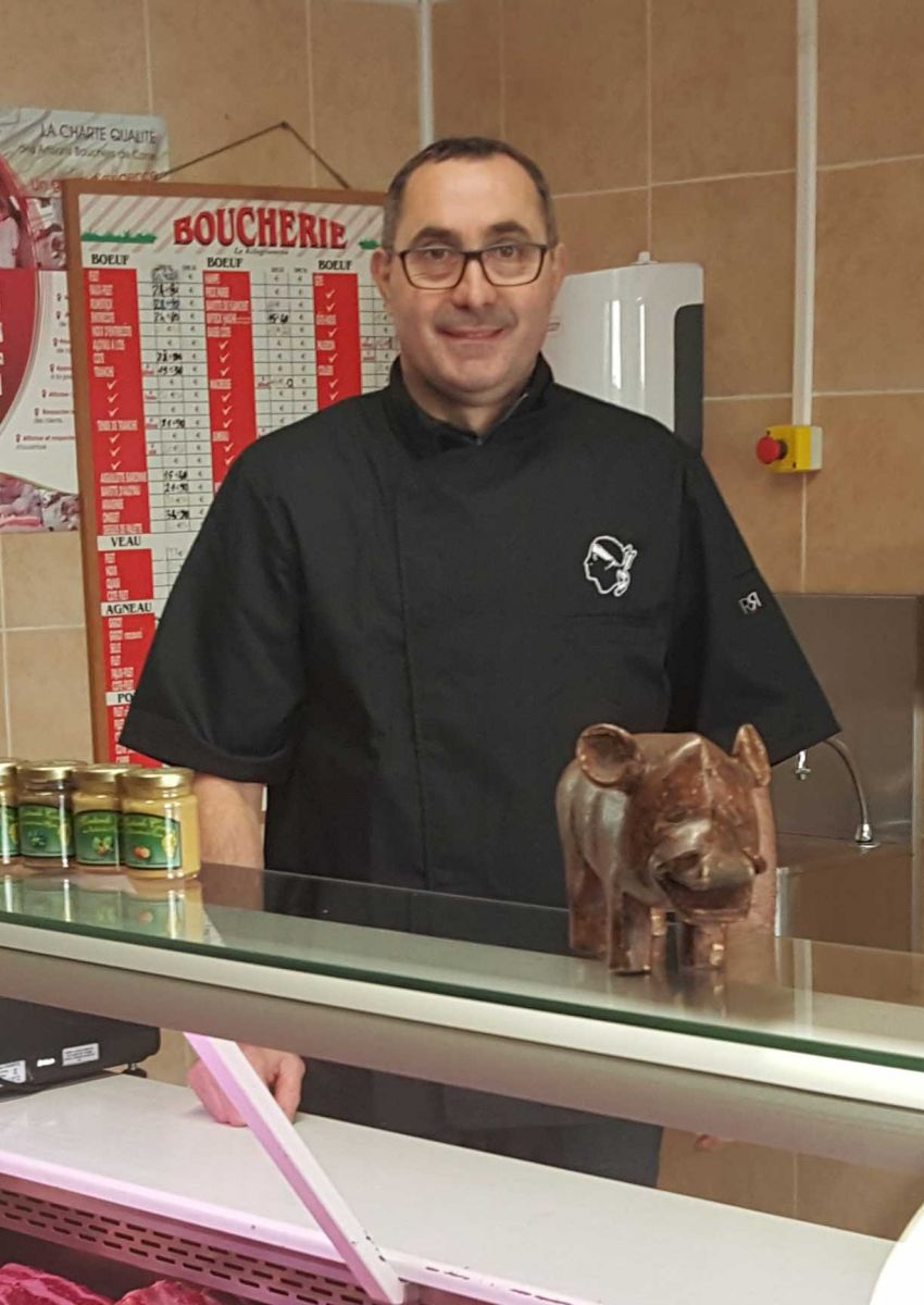 Franck Hadjic, boucher