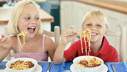L'alimentation des enfants