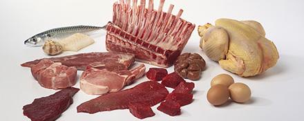 Les sept groupes pour l'équilibre alimentaire