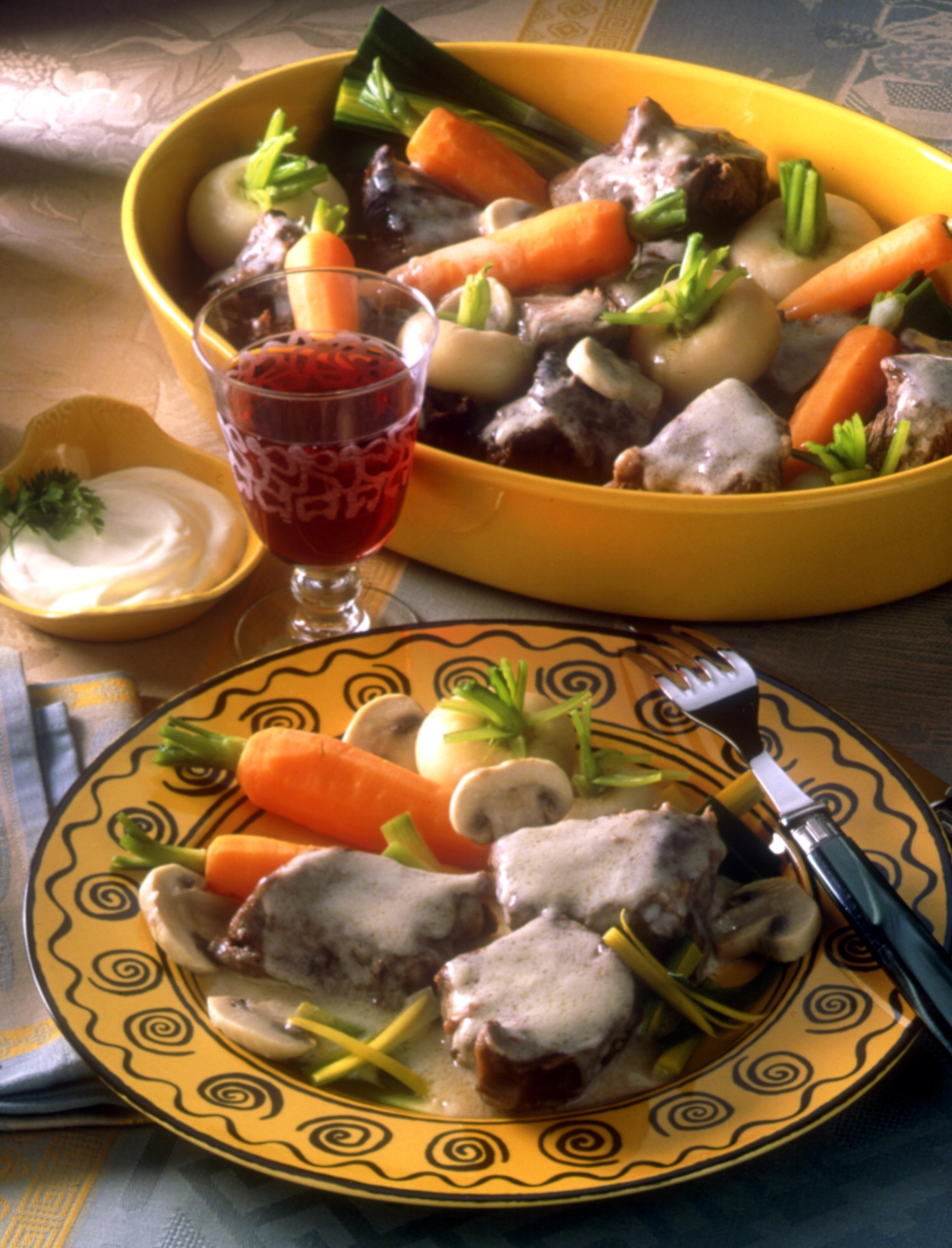 Blanquette de boeuf recettes de cuisine la for Viande cuisinee