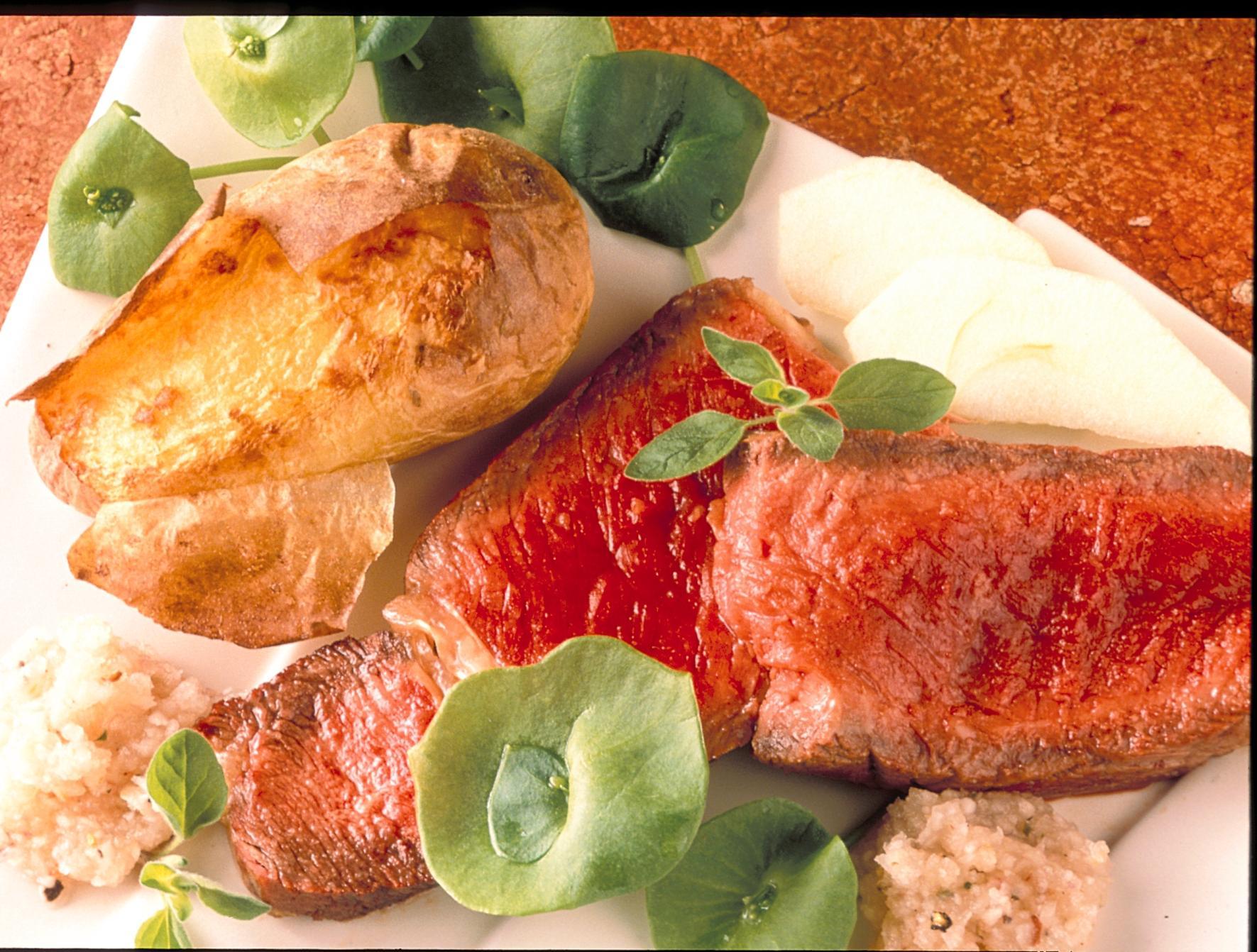 C te de boeuf la sauce sauvage recettes de cuisine - Cuisiner cote de boeuf ...