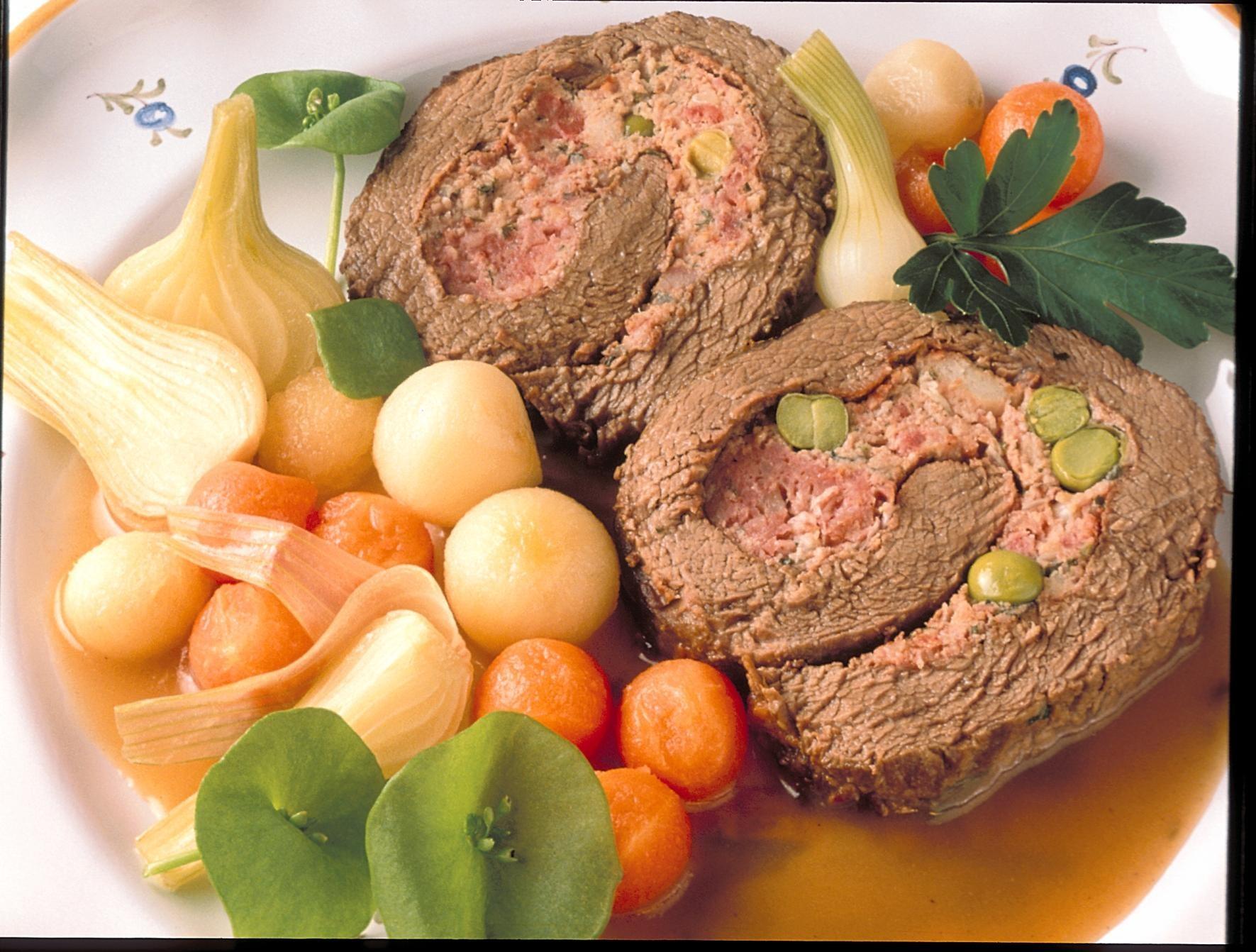 Roulade de boeuf recettes de cuisine la for Viande cuisinee