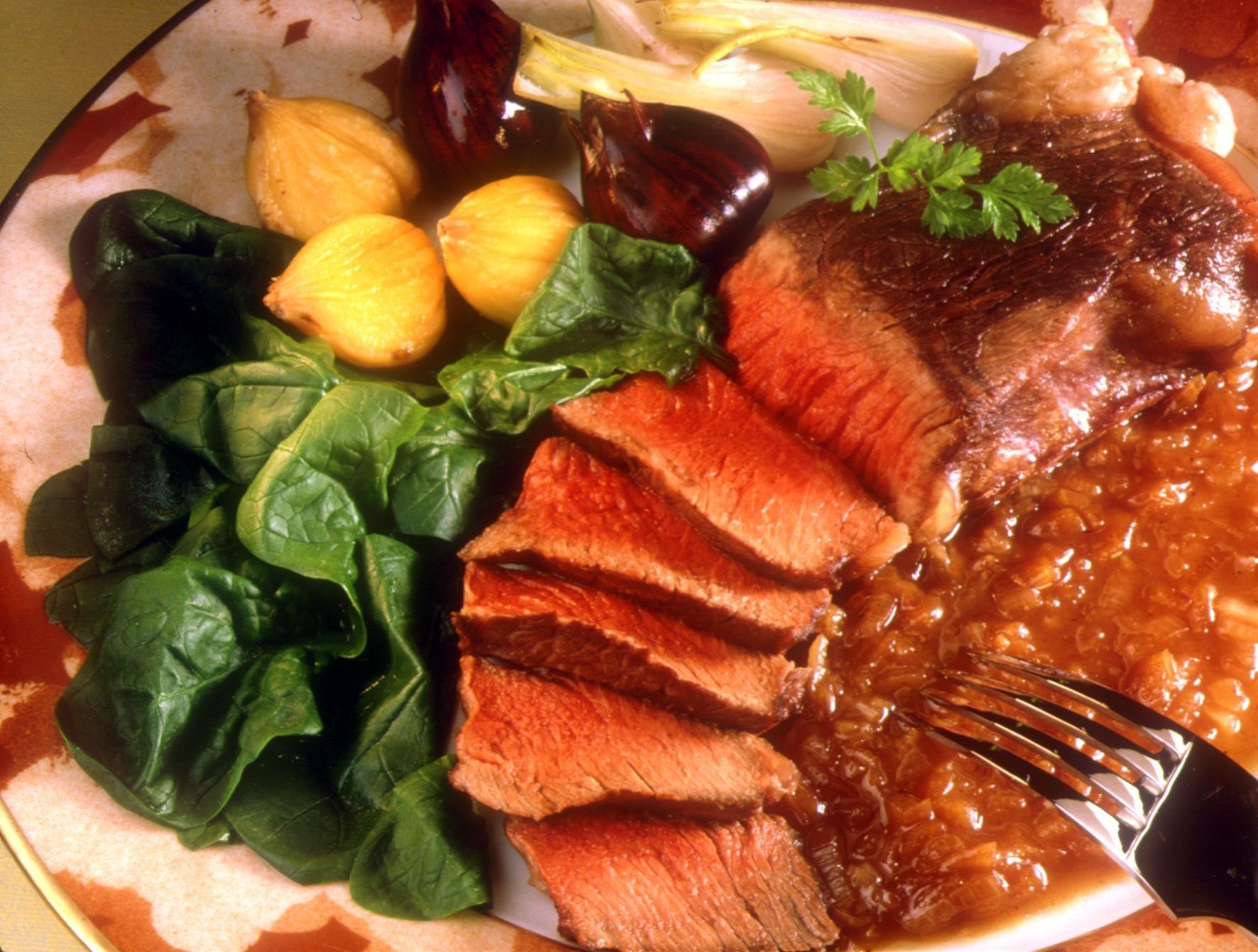 Rumsteck en chevreuil recettes de cuisine la for Viande cuisinee