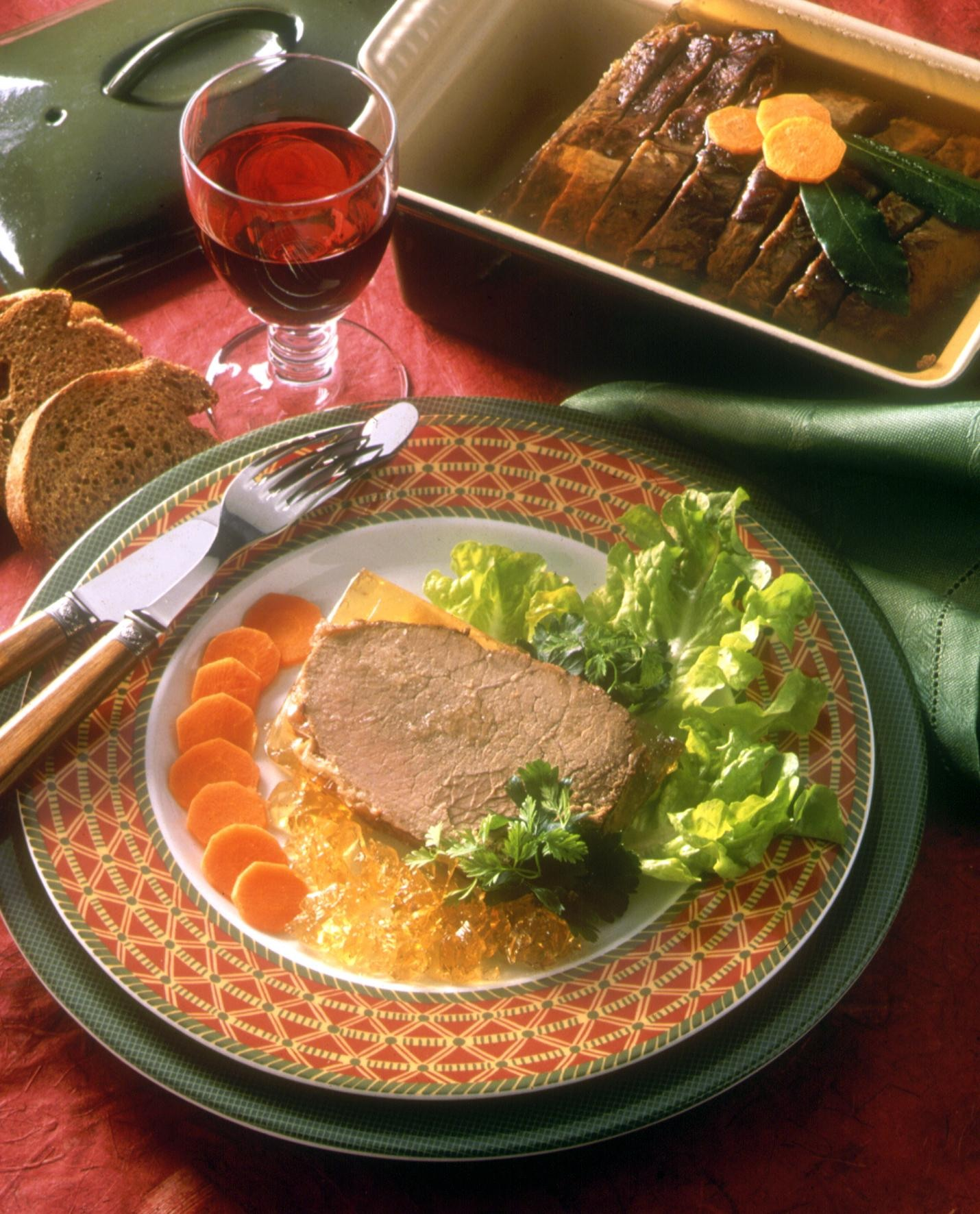 Terrine de boeuf recettes de cuisine la for Viande cuisinee