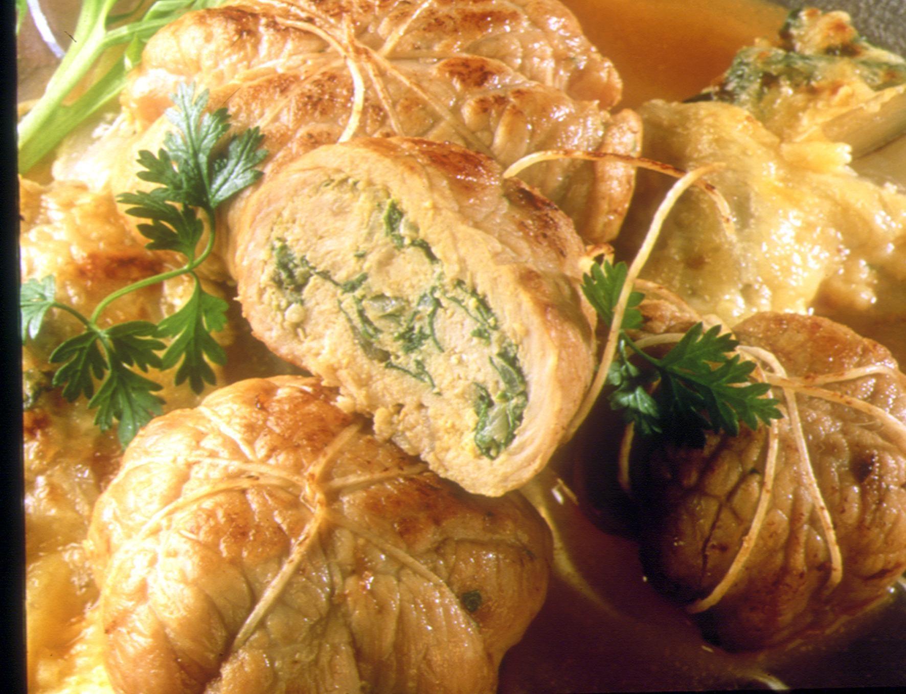 Paupiettes farcies au vert recettes de cuisine la - Cuisiner paupiettes de veau ...