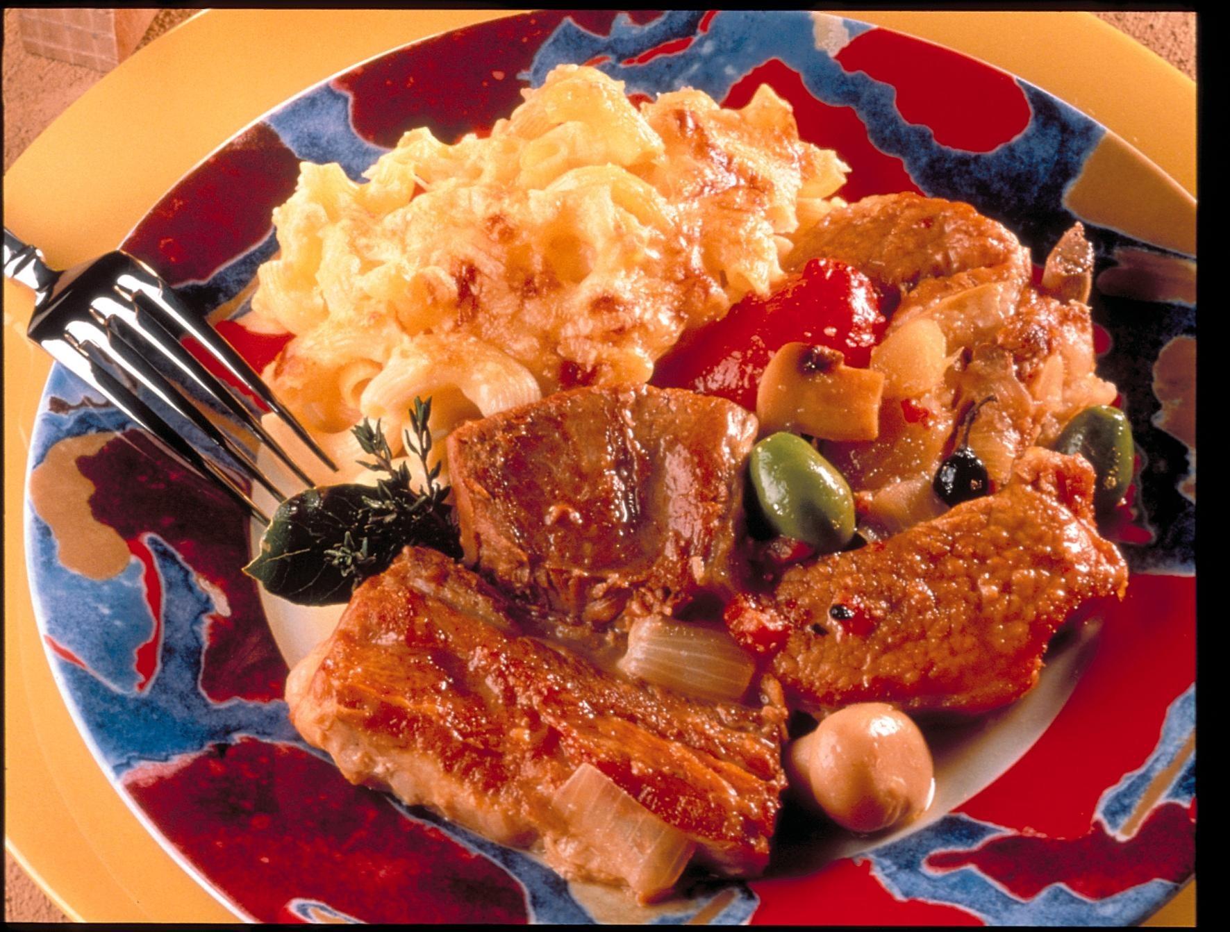 Veau marengo recettes de cuisine la for Viande cuisinee