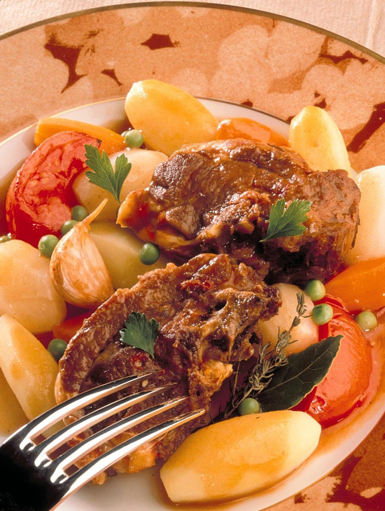 Navarin d 39 agneau printanier recettes de cuisine la for Viande cuisinee