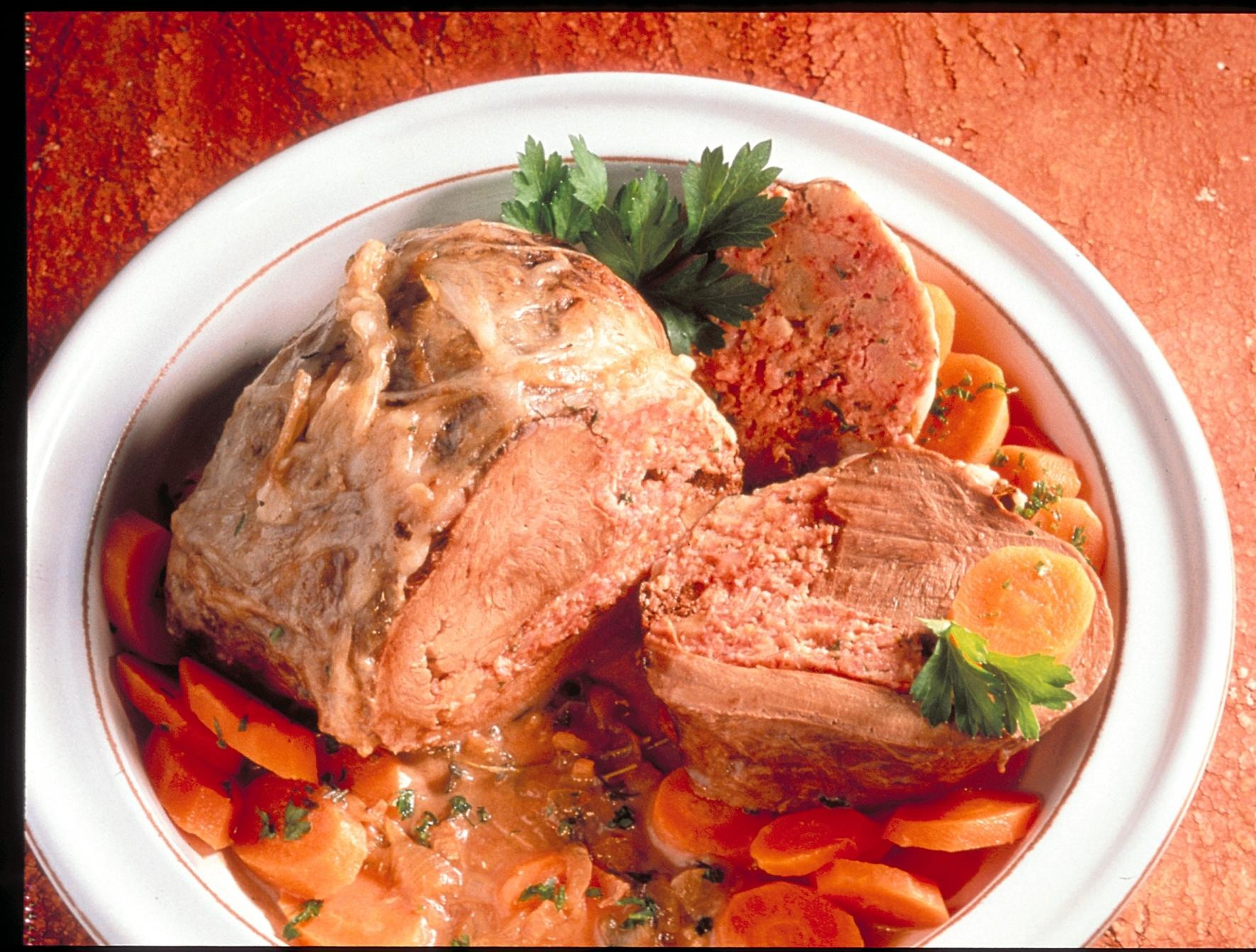 Coeur de veau farci recettes de cuisine la - Cuisiner le coeur de boeuf ...