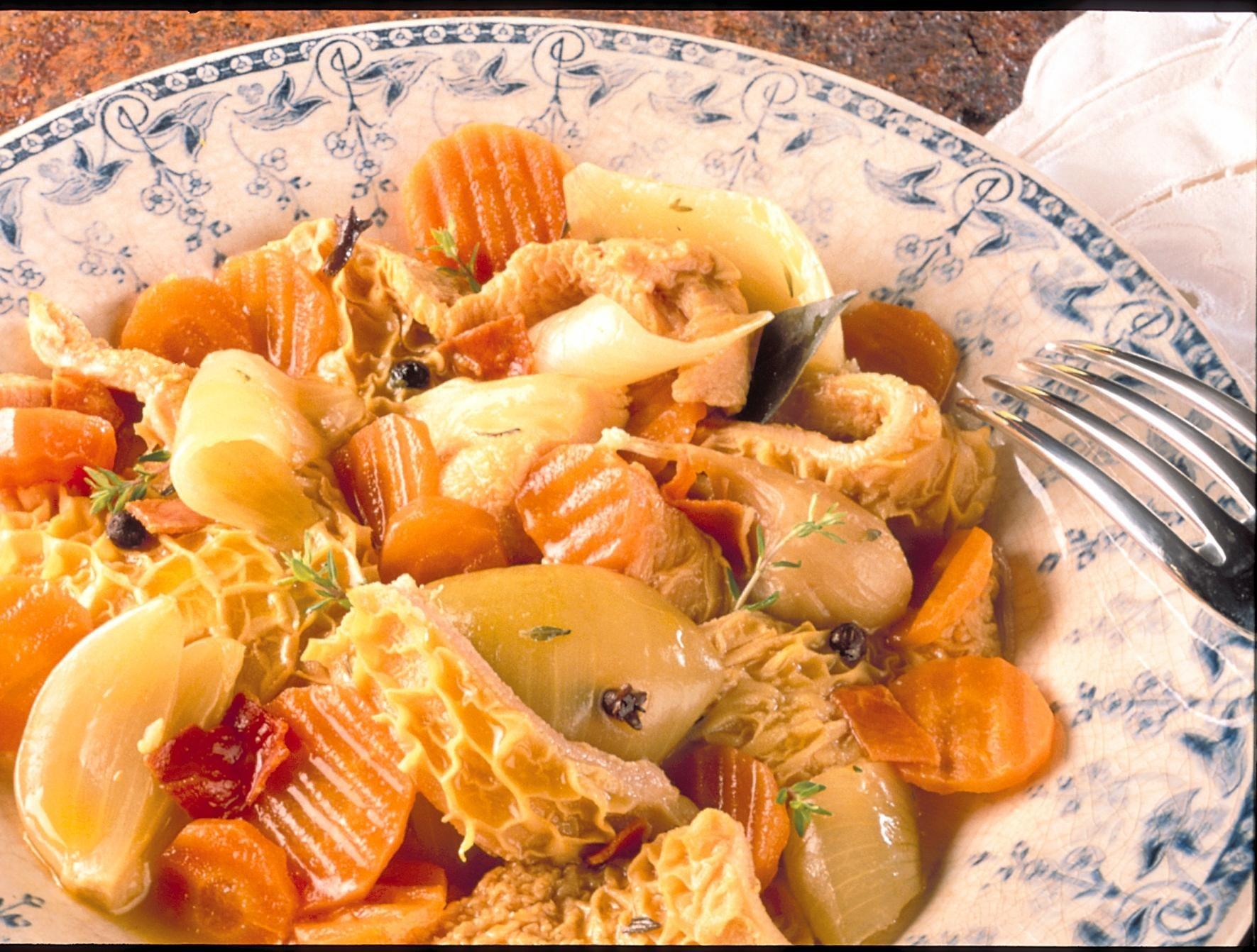 Gras double au safran recettes de cuisine la for Viande cuisinee