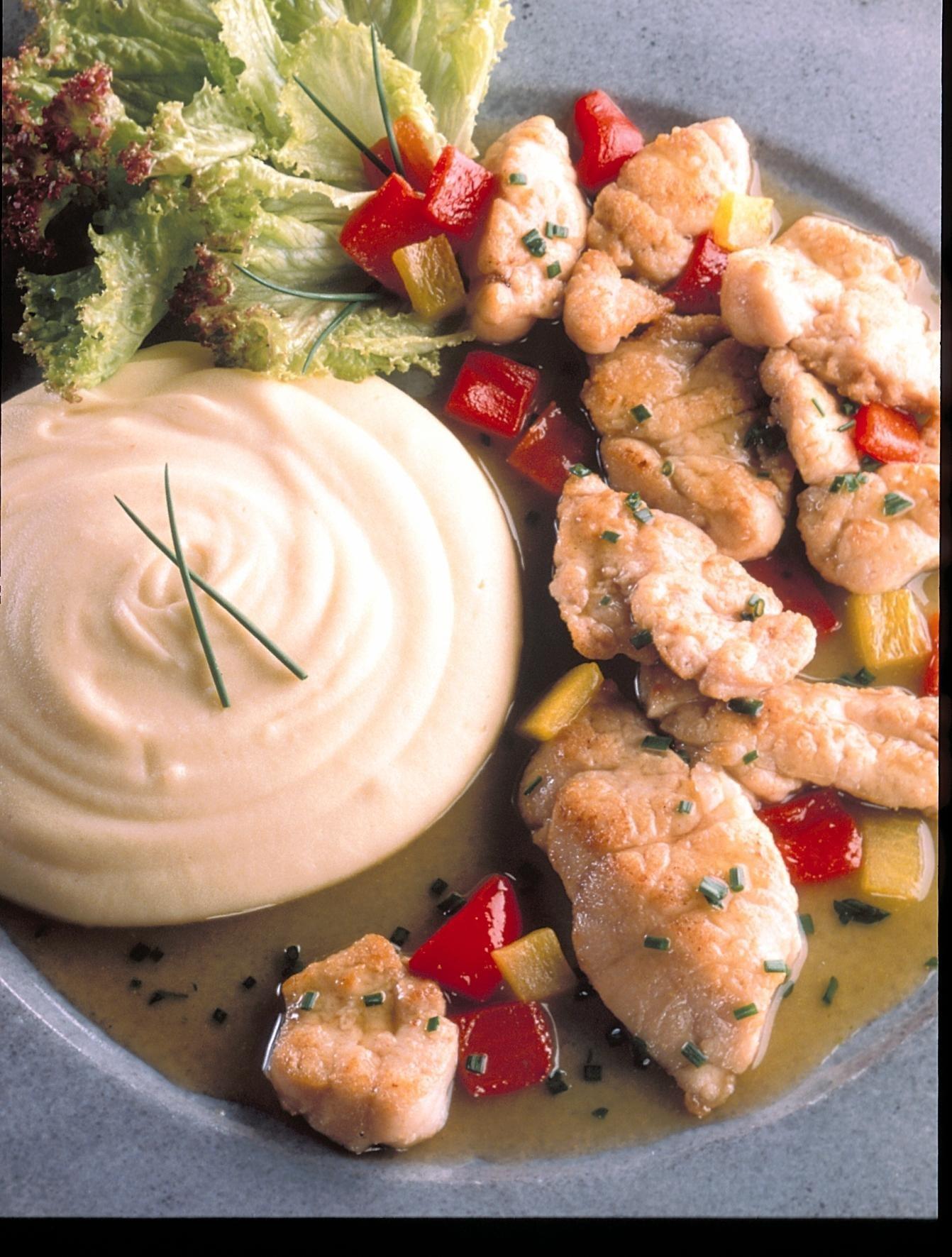 Ris de veau au poivron rouge recettes de cuisine la for Viande cuisinee