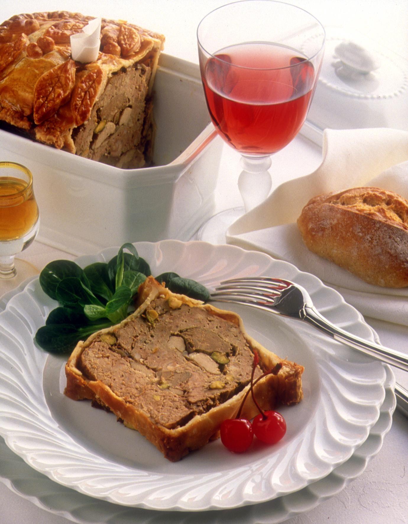 Terrine de foie de veau en cro te recettes de cuisine - Cuisiner le foie de boeuf ...