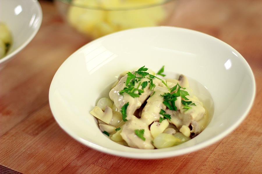 Blanquette de veau pommes l 39 anglaise recettes de cuisine la - Blanquette de veau recette facile ...