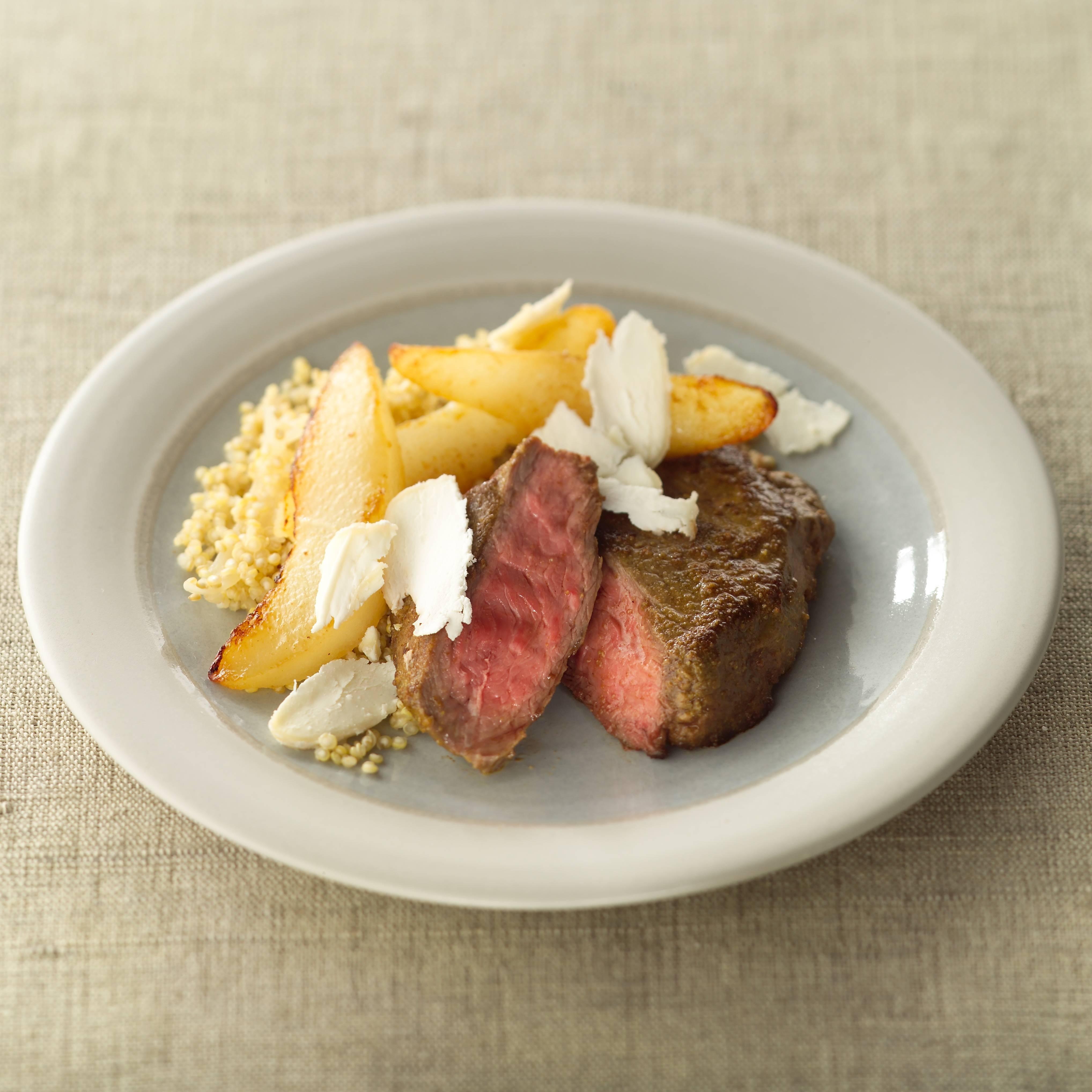 Poire de boeuf quinoa et poire recettes de cuisine la - Comment cuisiner la poire de boeuf ...