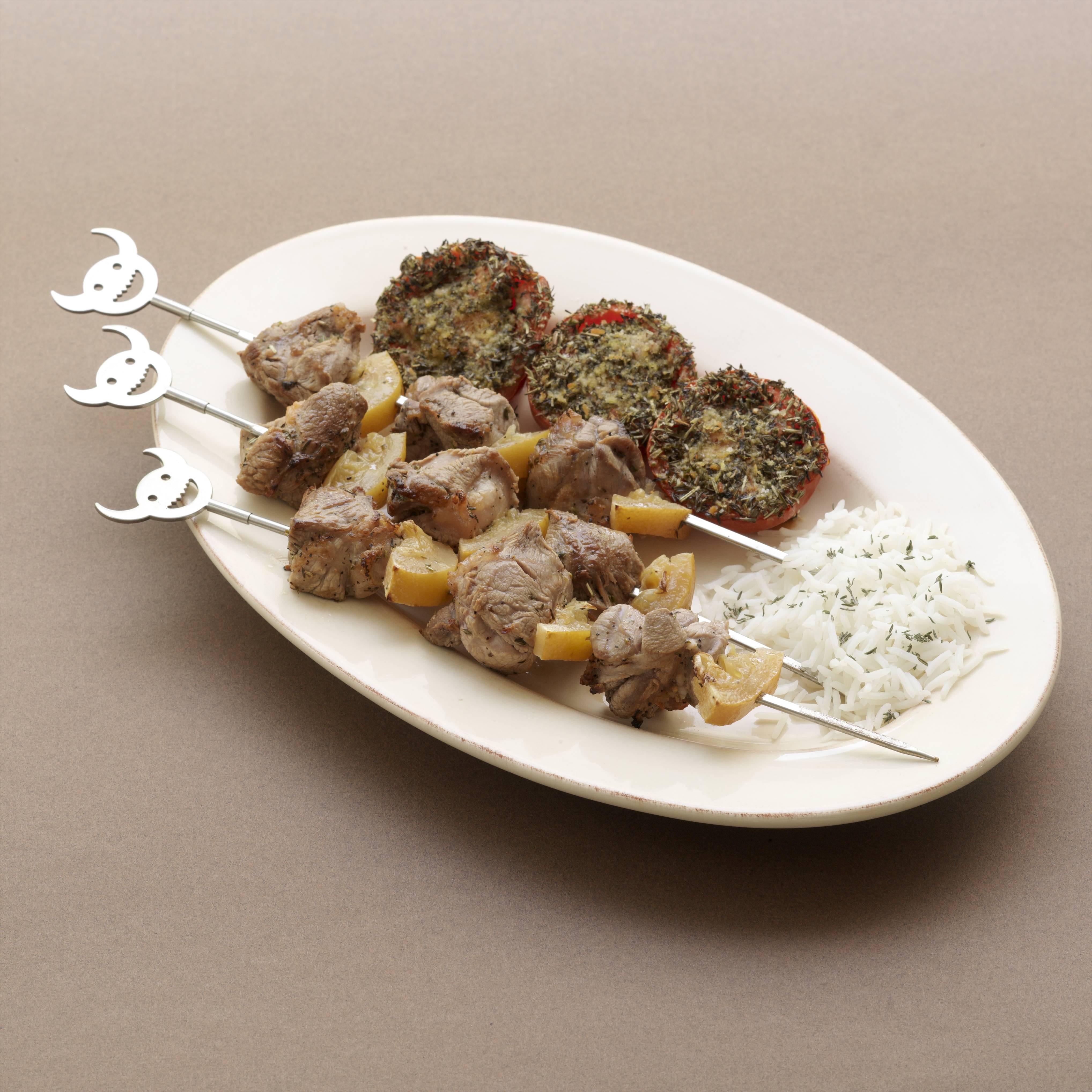 Brochettes d 39 agneau aux deux citrons recettes de cuisine for Viande cuisinee