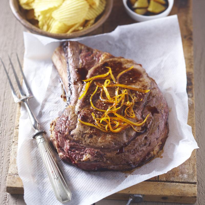 C te de b uf l orange recettes de cuisine la - Cuisiner cote de boeuf ...