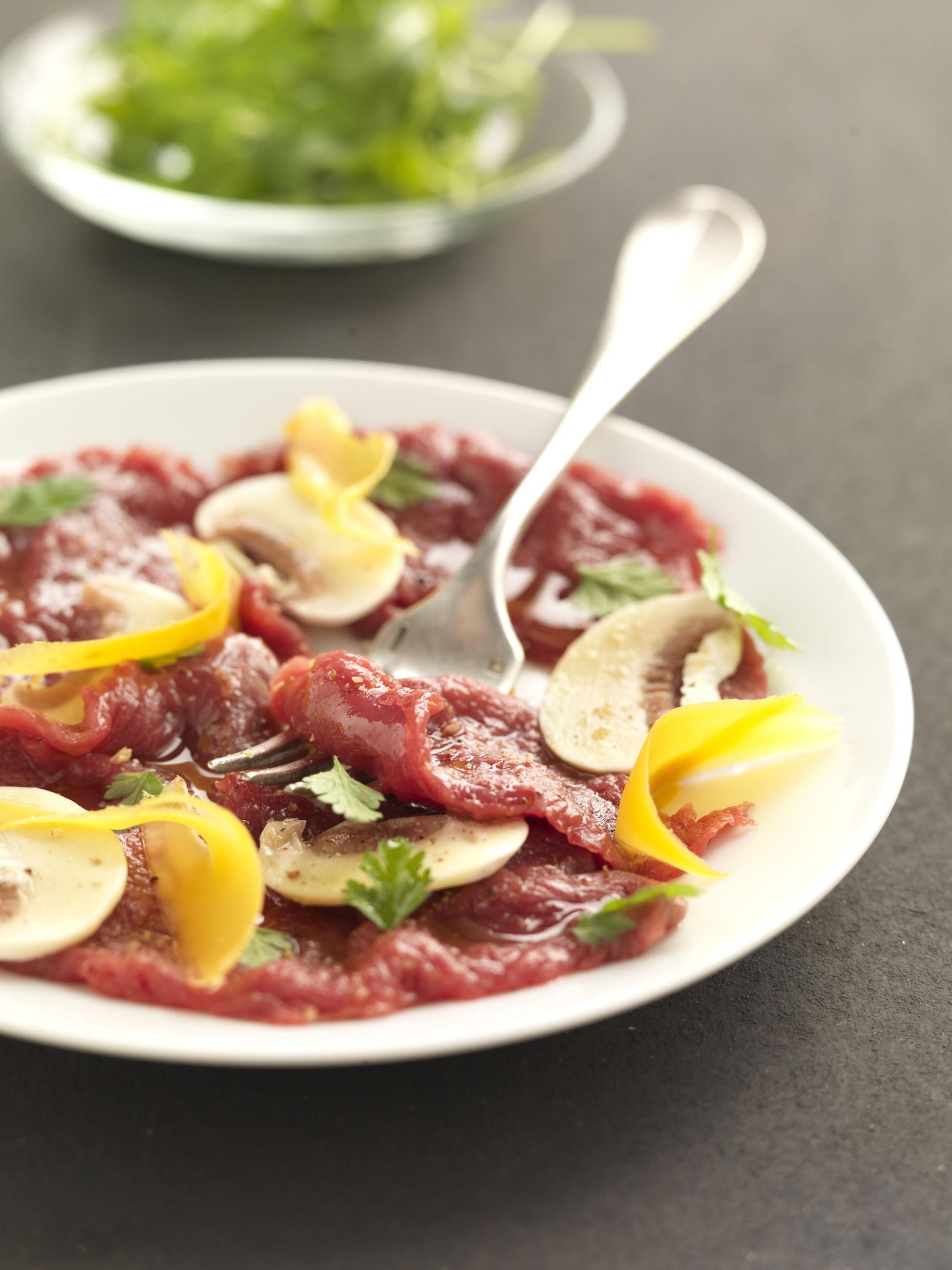 Carpaccio de viande chevaline recettes de cuisine la for Viande cuisinee