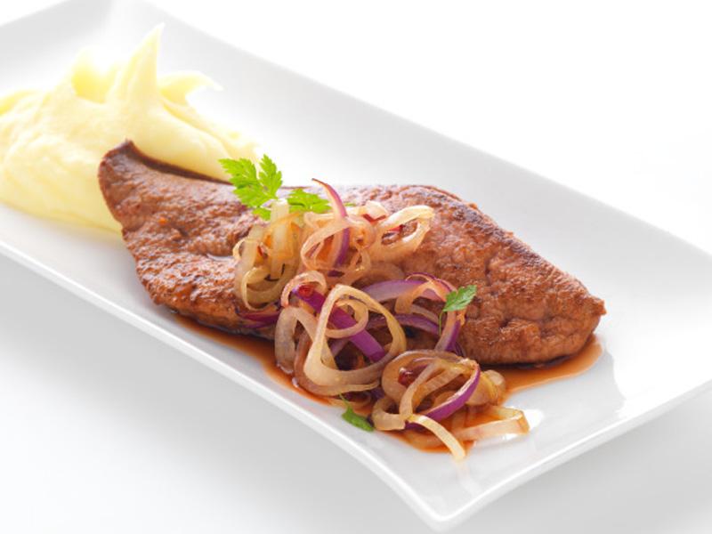 Foie de veau au vinaigre de framboise recettes de - Cuisiner le foie de boeuf ...