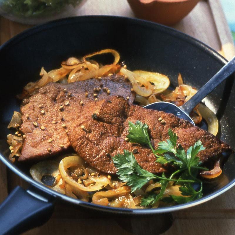 Foie de g nisse po l aux pices recettes de cuisine la - Cuisiner le foie de veau ...