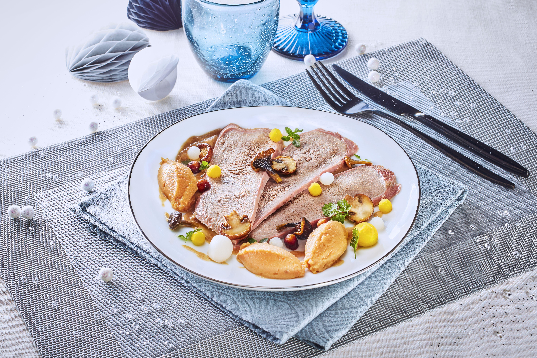 M li m lo de langue de veau sauce au foie gras recettes de cuisine la - Cuisiner le foie de veau ...