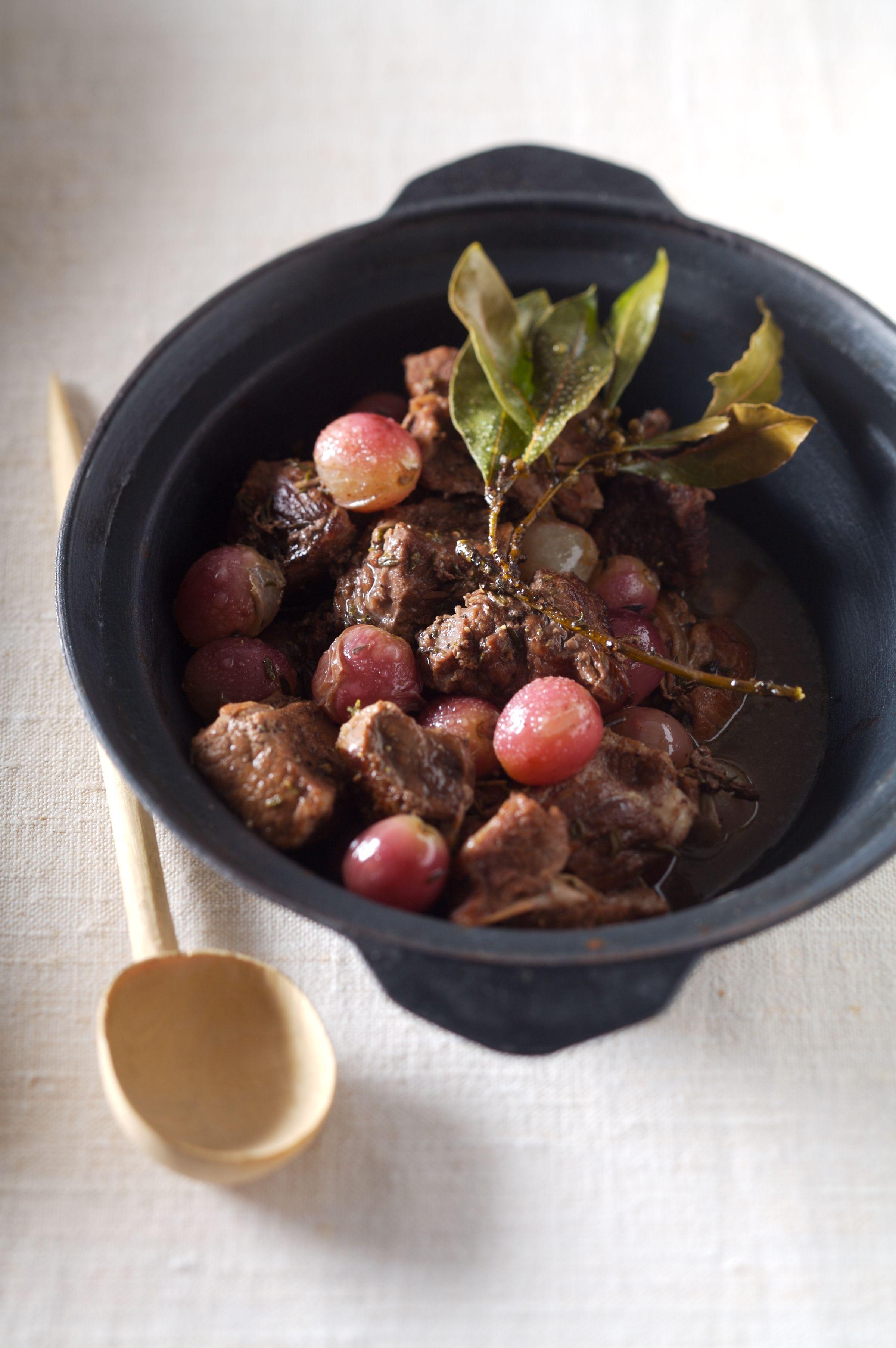 veau aux raisins frais fa on bourguignon recettes de cuisine la. Black Bedroom Furniture Sets. Home Design Ideas