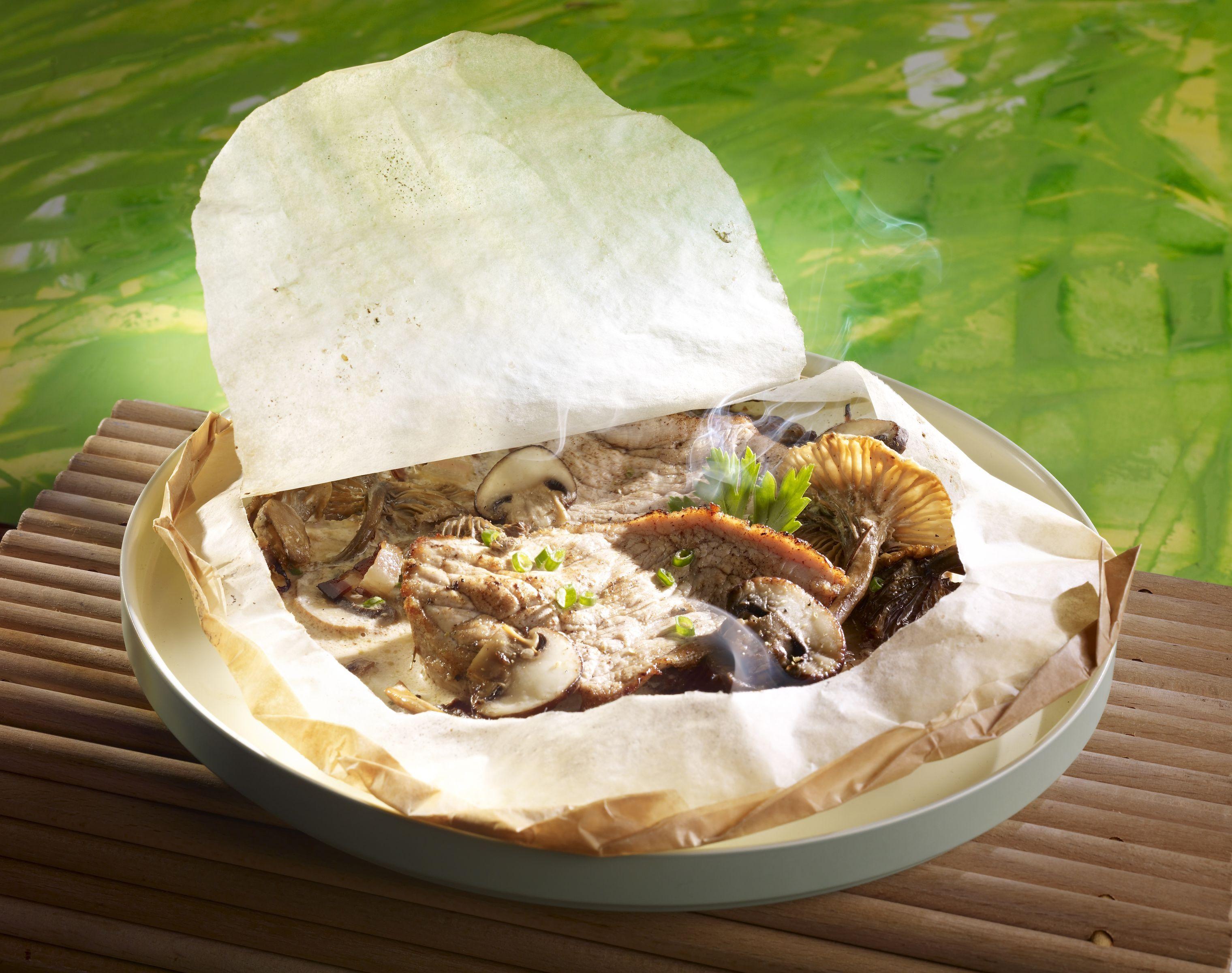 Papillotes de veau aux chanterelles recettes de cuisine - Cuisiner la chanterelle ...