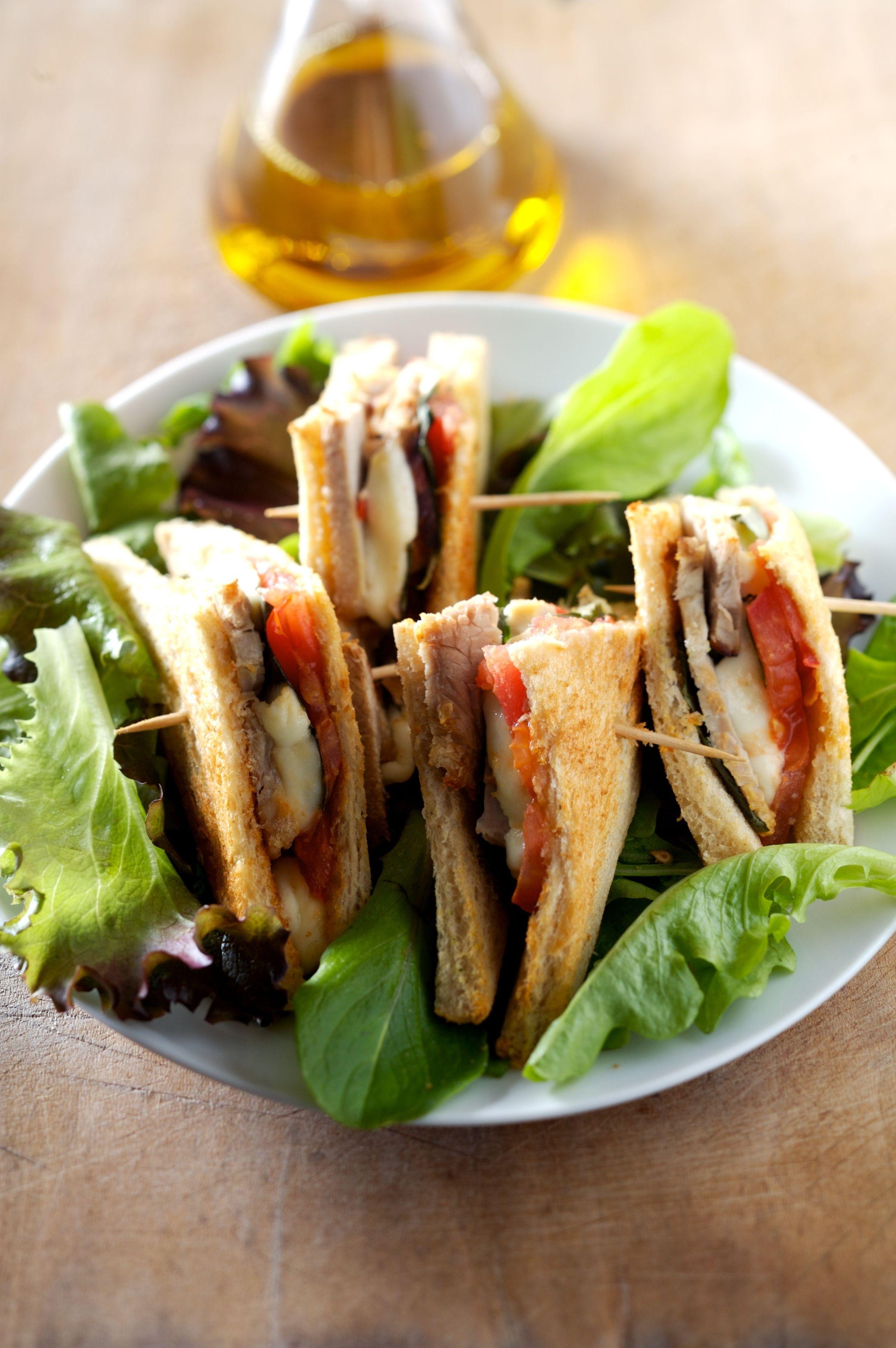 Club sandwichs au veau recettes de cuisine la for Viande cuisinee