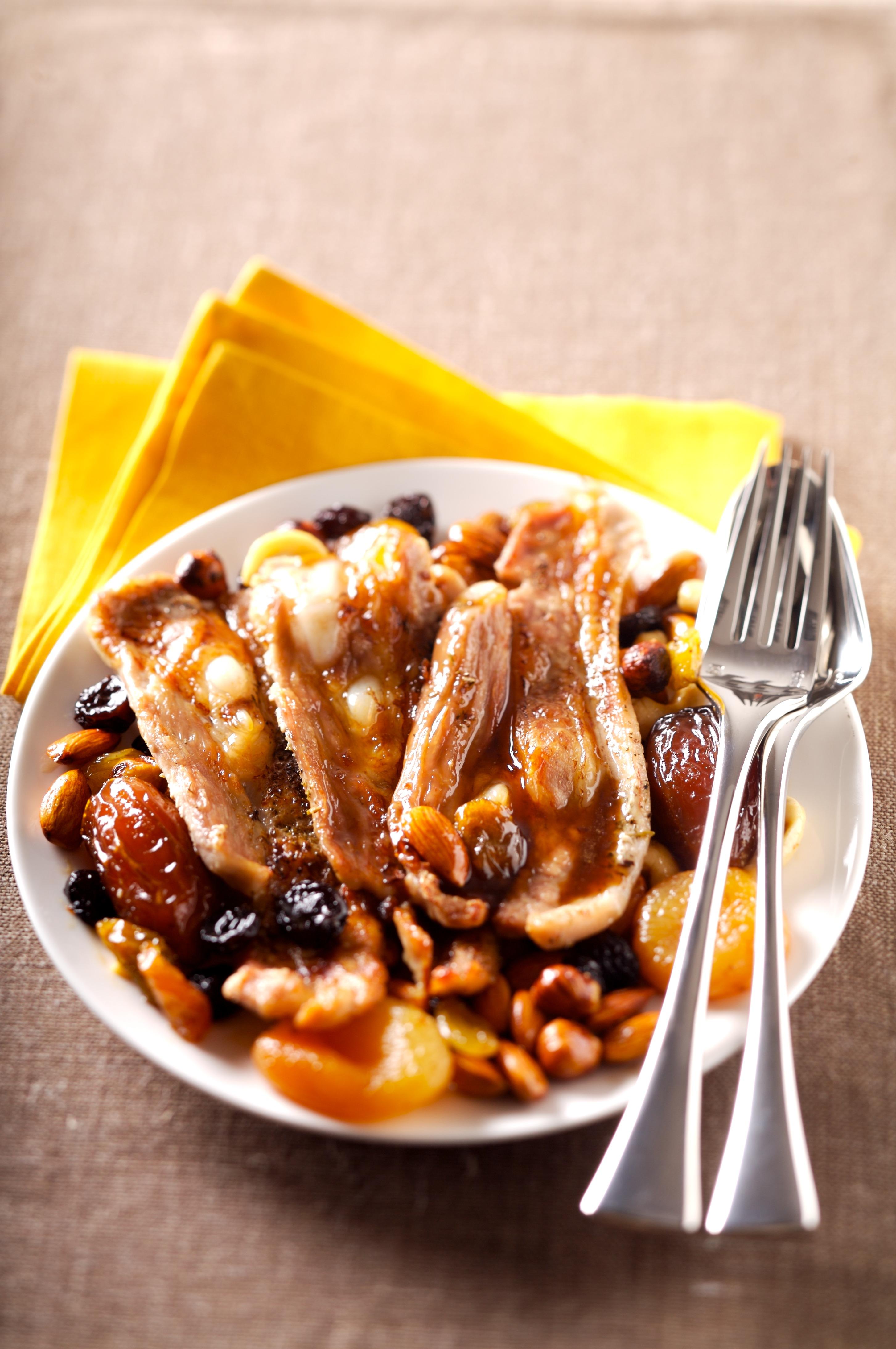 Tendrons de veau grill s sauce aux fruits secs recettes - Cuisiner tendron de veau ...