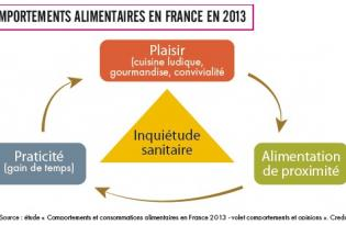 Comportements alimentaires en France en 2013