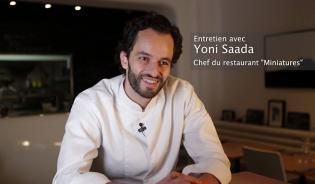 Interview de Yoni Saada, chef cuisinier