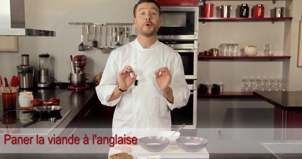 Comment paner l anglaise cuisiner la viande les essentiels la - Cuisiner le bar ...