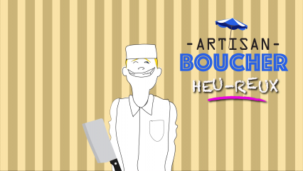 Grégory nous dessine son Job d'artisan boucher - Draw My Job